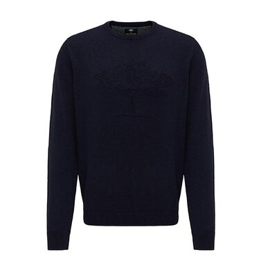 Fynch-Hatton trui ronde hals  Navy