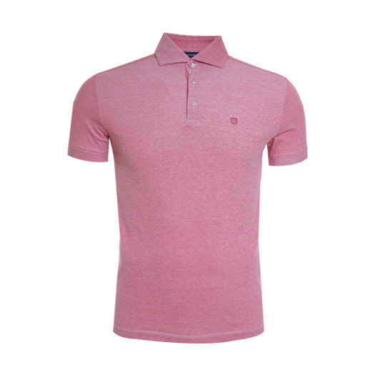 Profuomo poloshirt rood Red