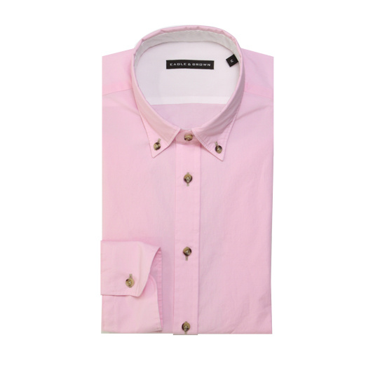 Eagle & Brown overhemd casual roze Pink