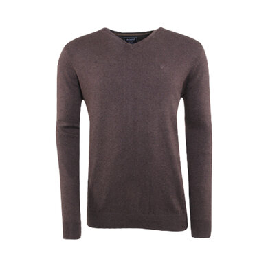 Adam est. 1916 v-hals pullover Brown