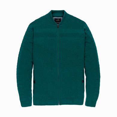 Vanguard Zip jacket Cotton Blend VKC196164 Deep Teal