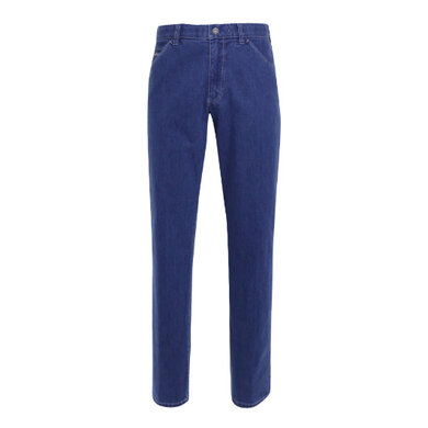 Meyer broek chino denim Blau
