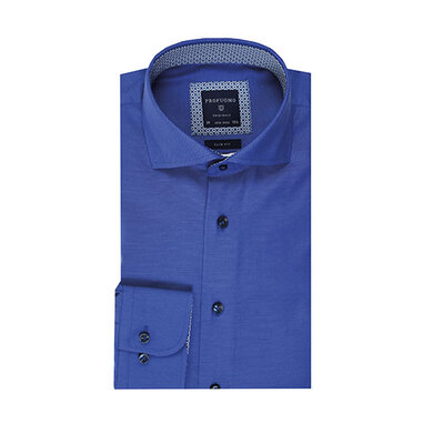 Profuomo overhemd royal blauw Royal