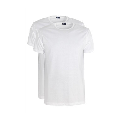 Alan Red wit Derby T-shirt 2-pack White