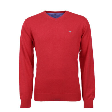Fynch-Hatton v-neck pullover Red