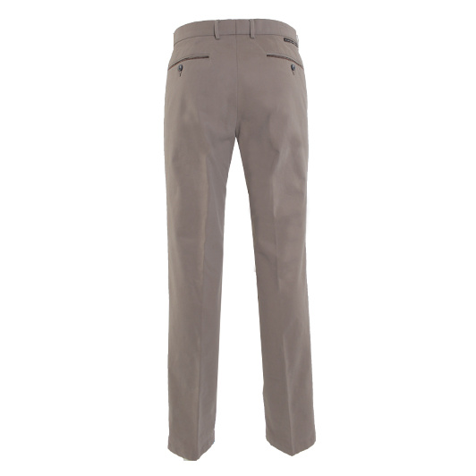 Eagle & Brown chino in stretch katoen Beige
