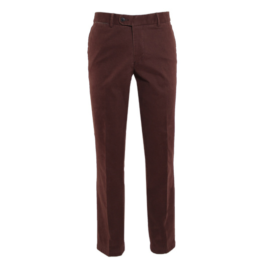 Eagle & Brown chino in stretch katoen oranje uni