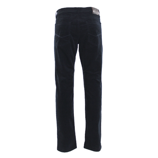 Eagle & Brown 5-pocket jeans in stretch katoen Donkerblauw