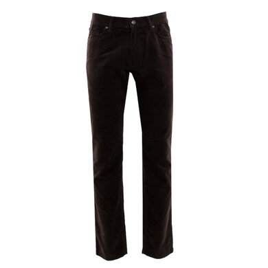 Eagle & Brown 5-pocket jeans in stretch katoen Brown