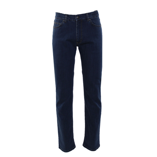 Adam 5-pocket in denim stretch Lichtblauw