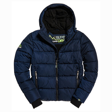 Superdry Sports Puffer Donkerblauw