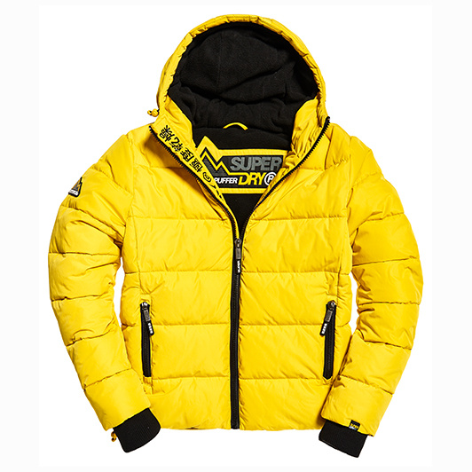 Superdry Sports Puffer Yellow