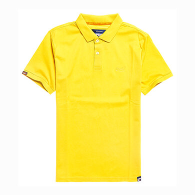 Superdry Classic Pique Polo Yellow