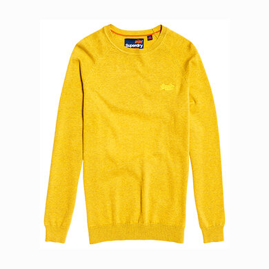 Superdry Orange Label Cotton  Yellow