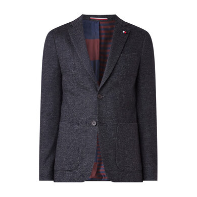 Tommy Hilfiger Tailored blazer design slim fit Navy