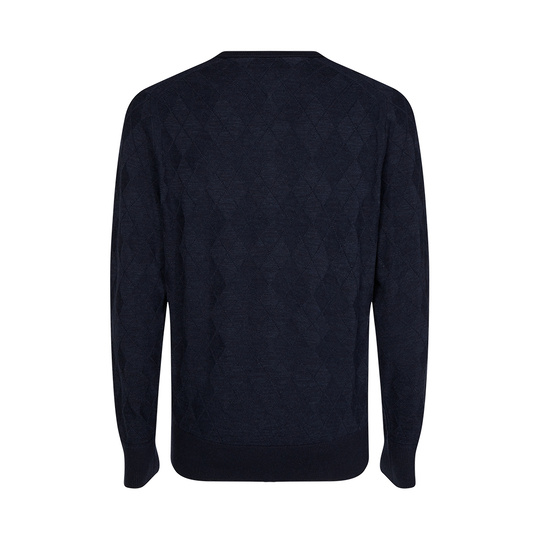 Tommy Hilfiger sweater ruit Donkerblauw