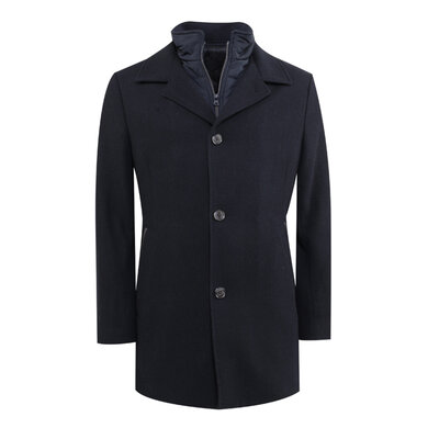 Adam Coat navy Navy