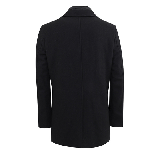 Adam coat zwart Black