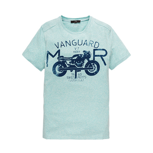 Vanguard T-shirt met artwork Lagoon
