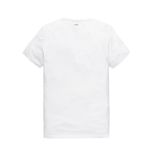 Vanguard T-shirt met artwork Bright White