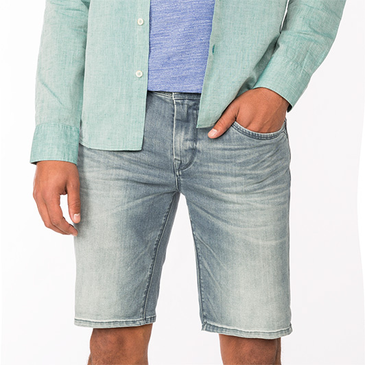 Vanguard V7 SHORT denim