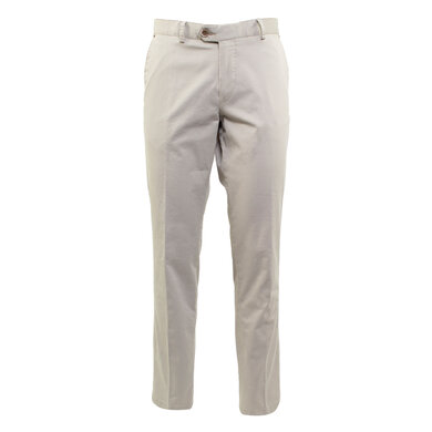 Duetz Tailors 1857 broek in Pima Cotton Stretch Beige