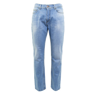 Eagle & Brown jeans in stretch Lichtblauw lichtblauw uni