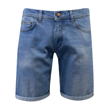 Eagle & Brown Jeans Short Lichtblauw lichtblauw uni