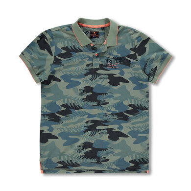 New Zealand Auckland Polo Camouflage Groen New army