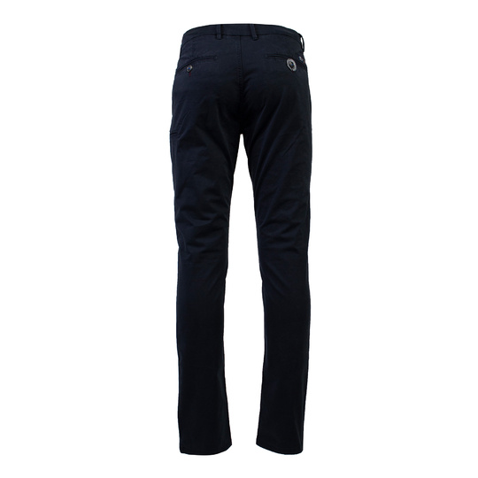New Zealand Auckland Broek Napier Stetch Satin Nza navy