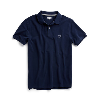 McG Regular fit cotton pique polo Bright Navy