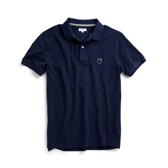 McGregor Polo Korte Mouw Piqué Bright Navy