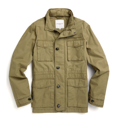 McGregor Jacket Airfield Groen Branch Green