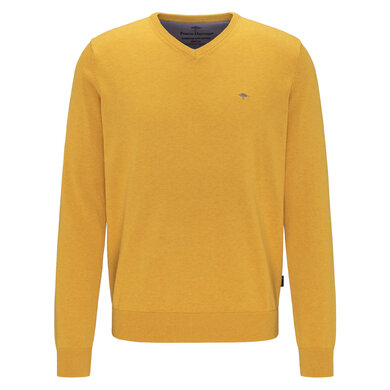 Fynch Hatton V-Neck Trui Citron