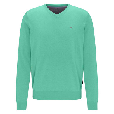 Fynch Hatton V-Neck Trui Fresh mint