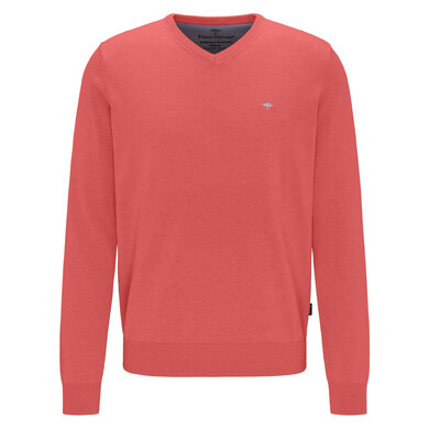 Fynch Hatton V-Neck Trui Watermelon