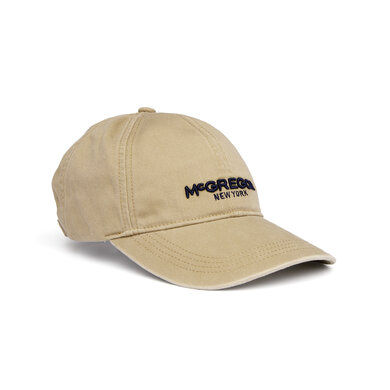 McGregor Twill Shield Cap Sand