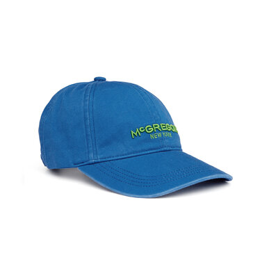 McGregor Twill Shield Cap Bright blue