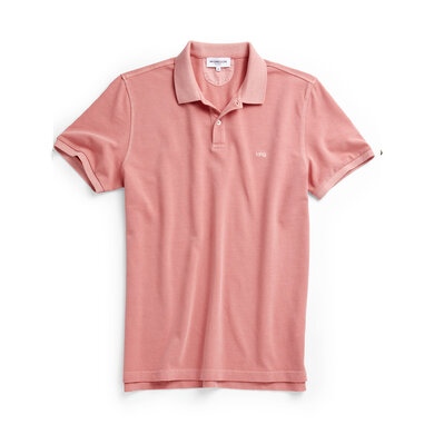 McG Regular fit pique polo in soft cotton Oranje