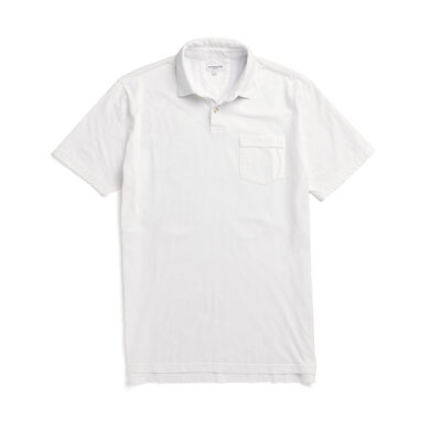 McG Regular fit super soft jersey polo Off white