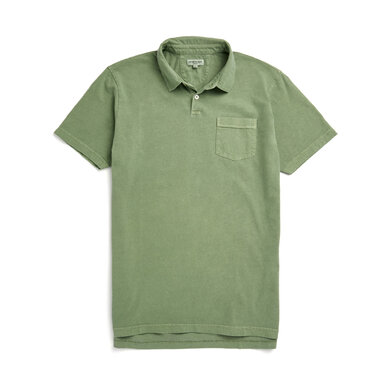 McG Regular fit super soft jersey polo Alfalfa Green