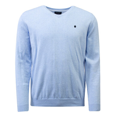 Adam est 1916 Pullover v-hals Vince  Light blue