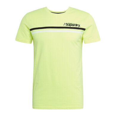 Superdry T-shirt Neongeel Neon yellow