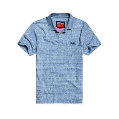 Superdry Polo met Logo  Blue