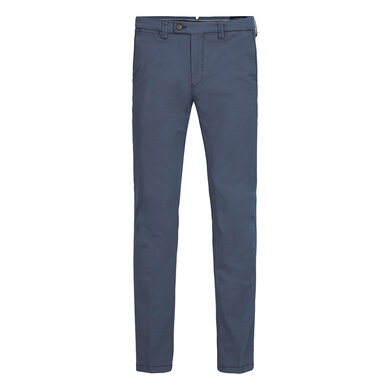 Profuomo chino denim Blue