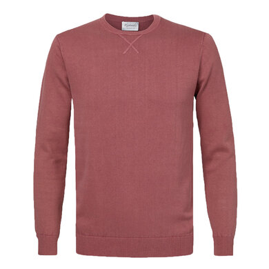 Michaelis Pullover v-hals Oudroze Pink