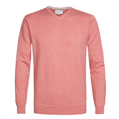 Michaelis Pullover v-hals rood Red