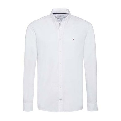 Tommy Hilfiger Oxford Overhemd Bright White