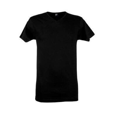 Alan Red t-shirt zwart v-hals Zwart