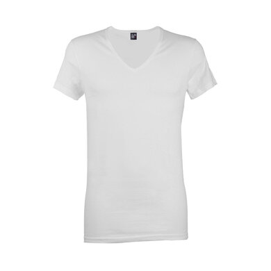 Alan Red T-shirt Wit wit uni